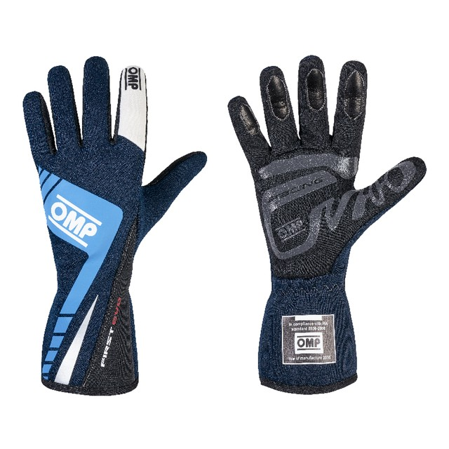 IB/757E/BC FIRST EVO GLOVES MY2016 BLUE/CYAN