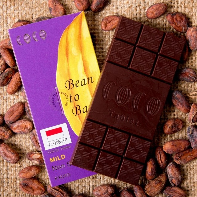 【NEW】 Bean to Bar Tablet インドネシア産