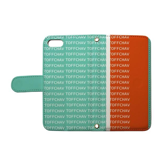 TOFF CHAV - toff-17(手帳型カード入れ付きタイプ)