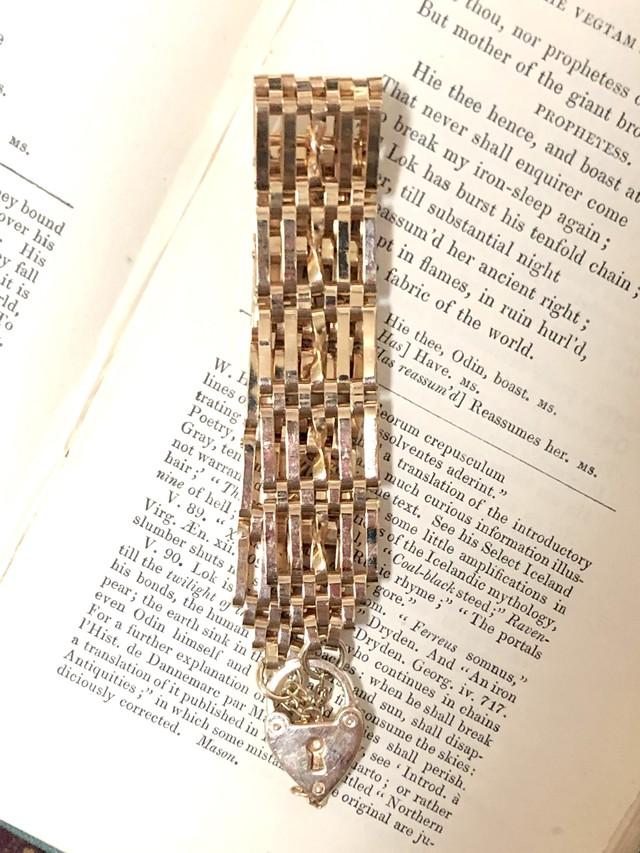 【Run Rabbit Run Vintage 】padlock bracelet 4