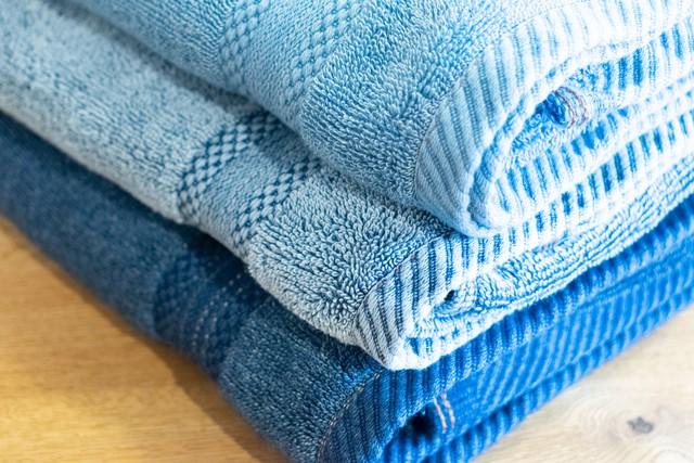 FADE DENIM -Bath Towel-