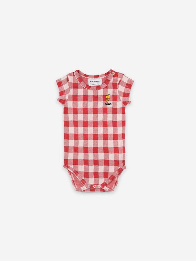 BOBO CHOSES ボボショセス Big Smile Short Sleeve Body size:6-12M(70-80)・12-18M(80-90)