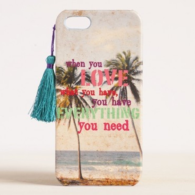 Love What You Have #livehappy iPhone 5 Cover