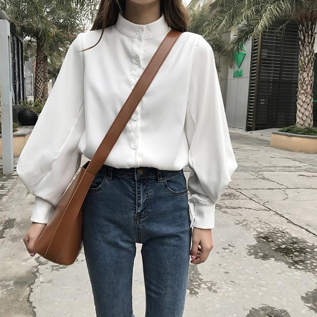 【tops】ドット柄半袖カジュアル折り襟トップスシャツ