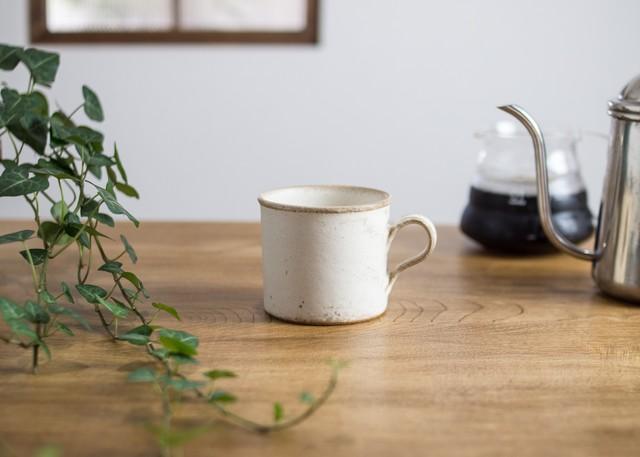 SHIROUMA コーヒーカップ 白(マグカップ)/長谷川 哲也