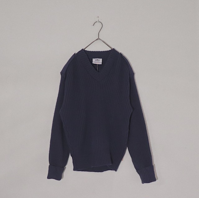 navy command sweater