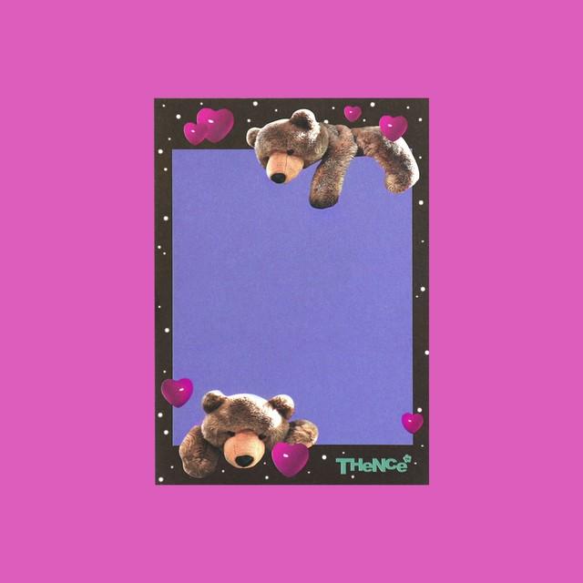 [SY-82] 「LOVE BEAR」メモパッド