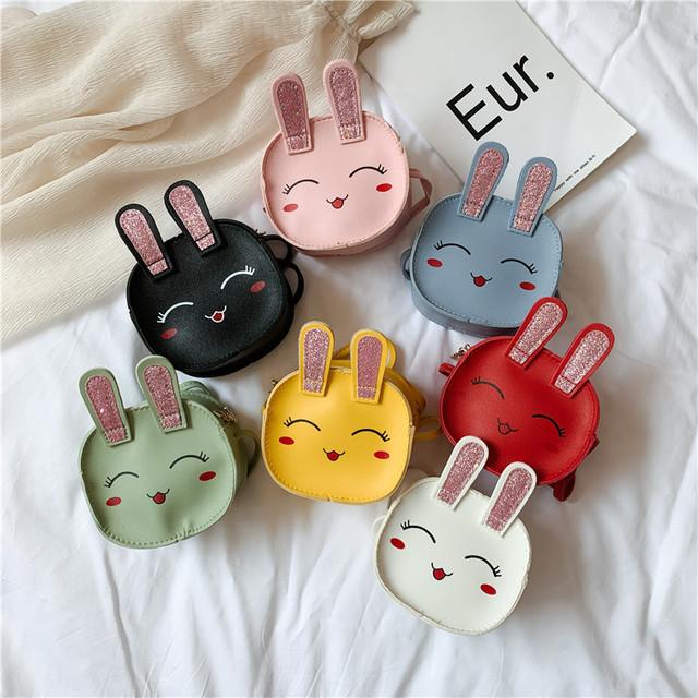 【小物】可愛いウサギ柄合わせやすい女の子バックグッズ26818259