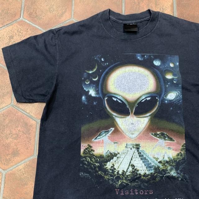レア 1998's visitors エイリアン Tシャツ