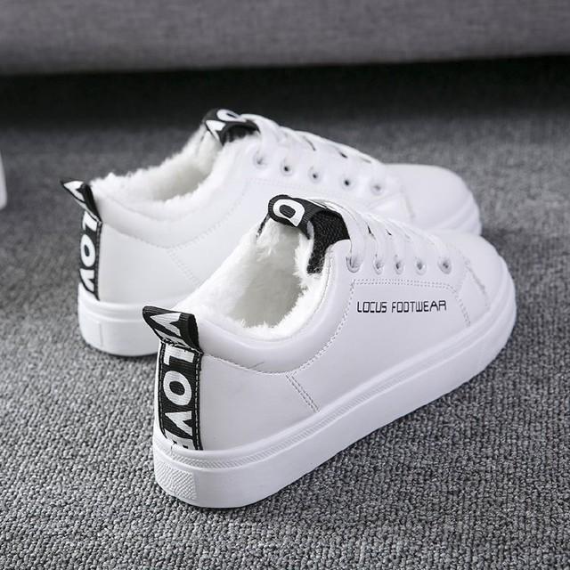 【shoes】裏起毛歩きやすいアルファベットスニーカー