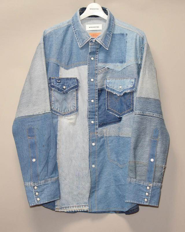 Denim shirt -4-