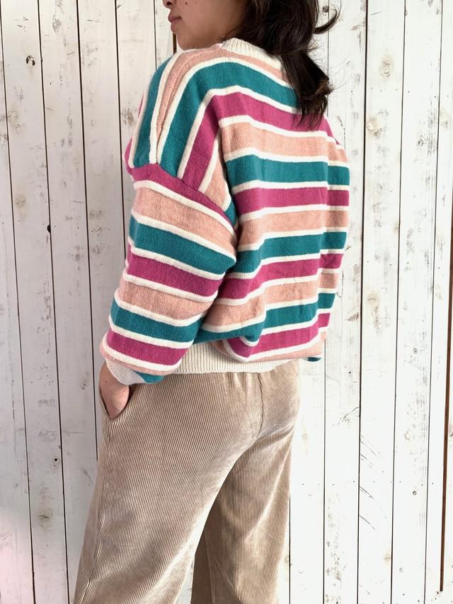 セーター:pink