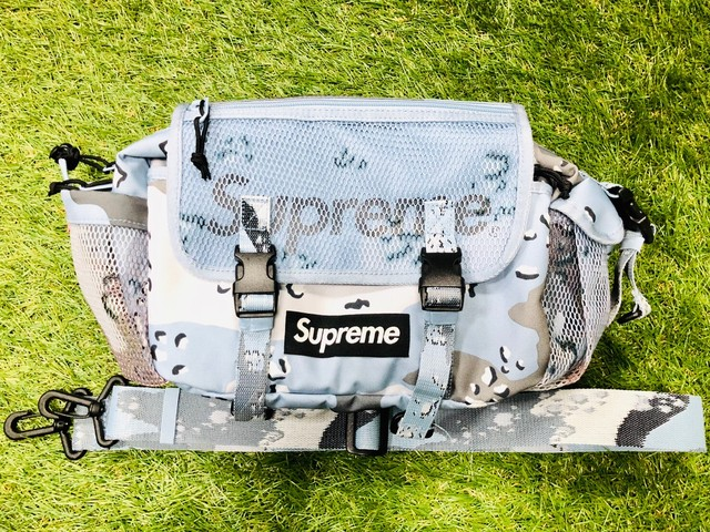 Supreme 20SS WAIST BAG BLUE CAMO 80JH7776