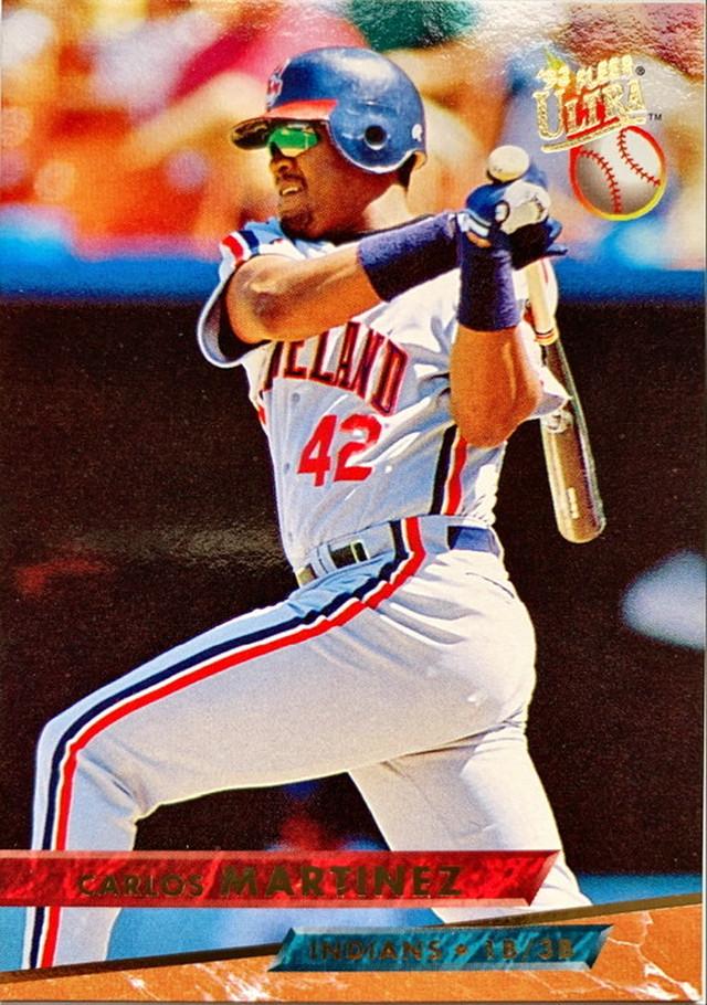 MLBカード 93FLEER Carlos Martinez #188 INDIANS