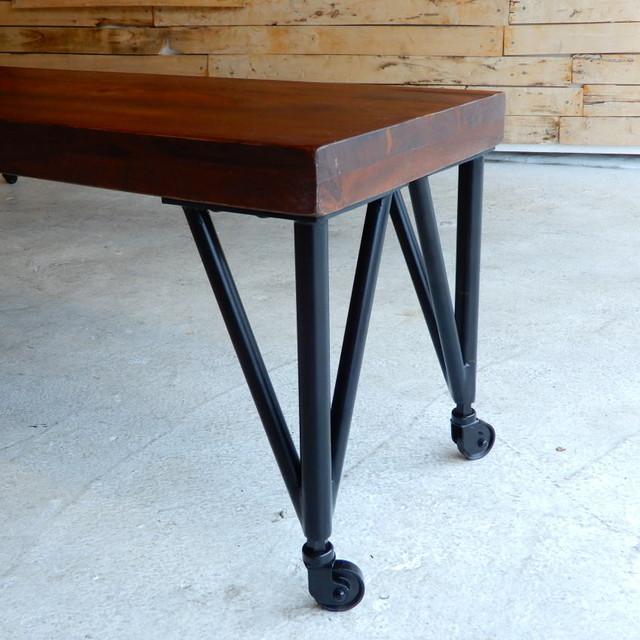 TOPANGA Furniture 鉄脚 35cm キャスター付き