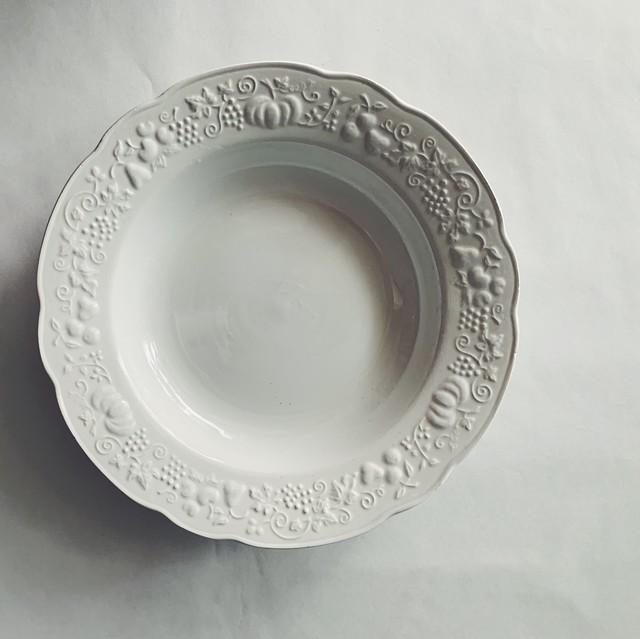 秋の実りの皿 ④