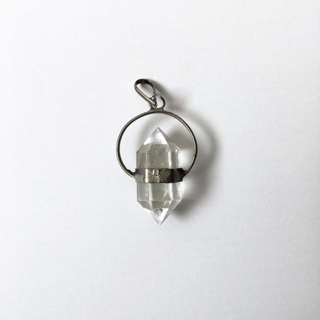 シルバーとアクリルのペンダントヘッド|Silver and Acrylic Pendant Head