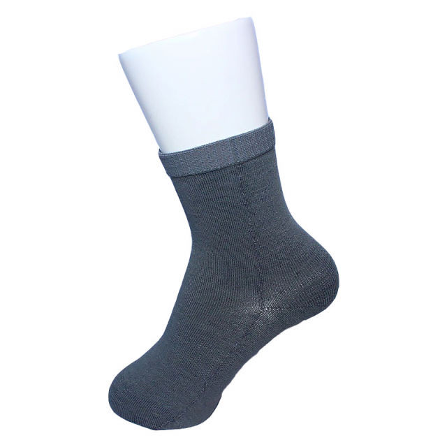 【Inner-Fact】 Round Socks Middle(Light Gray)