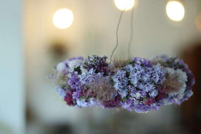 フライングリース スターチス 紫
