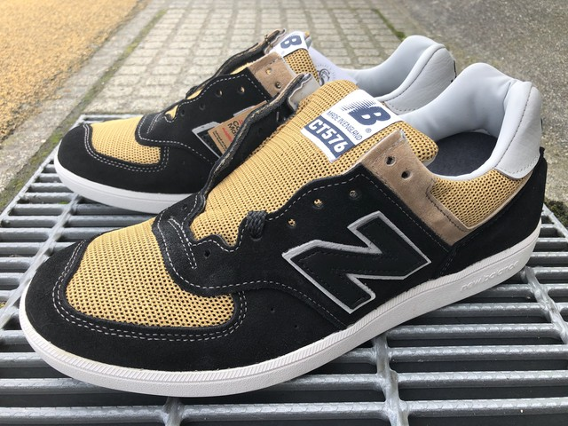 NEW BALANCE CT576OKT (BLACK/TAN)