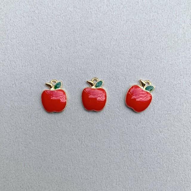 りんごメタルチャーム