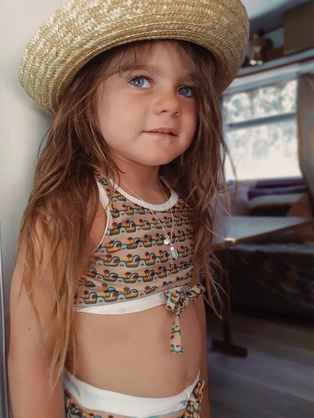 Artemis and apollo kids / Summer girls bikini