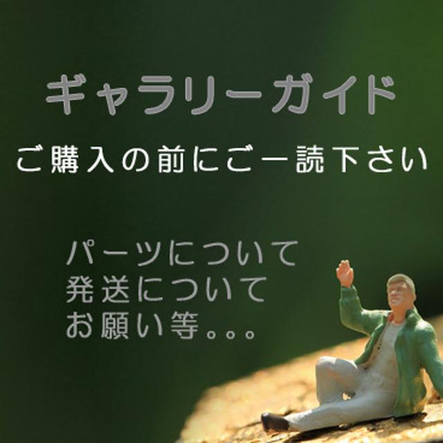 ギャラリーガイド♯ご購入前にご一読下さいませ。よろしくお願いしますm(__)m