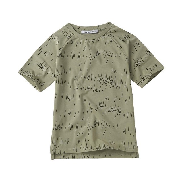 MINGO. / T-shirt [Grass Print Oak]