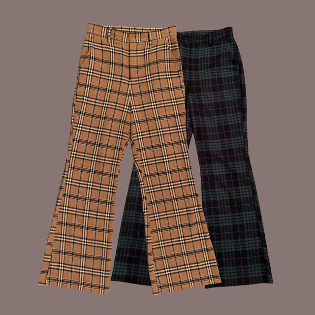 【Désir original】London check pants