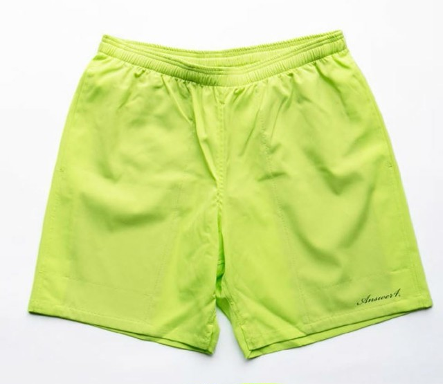 【Answer4】 3Pocket Short Pants (Acid Lime)