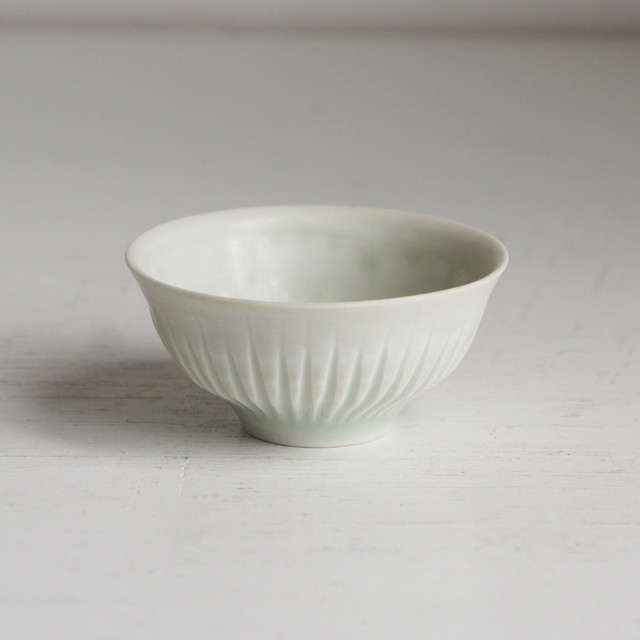 白磁鎬茶杯 -4点限り-
