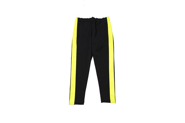"""EZ DO by EACHTIME. """"NIGHT CRUISING JERSEY PANTS"""" BLACK"""