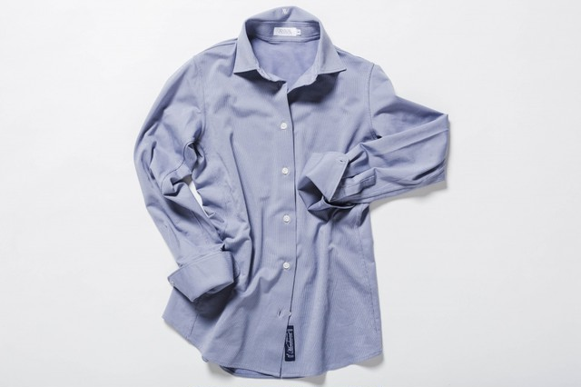 The skin shirt -Fly front (F170101WHT)
