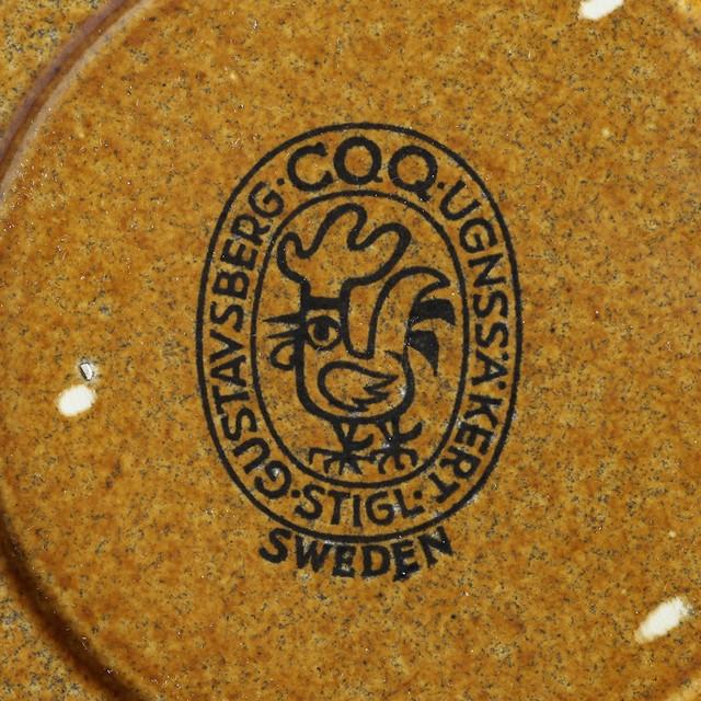 Gustavsberg グスタフスベリ COQ コック カップ&ソーサー 北欧ヴィンテージ