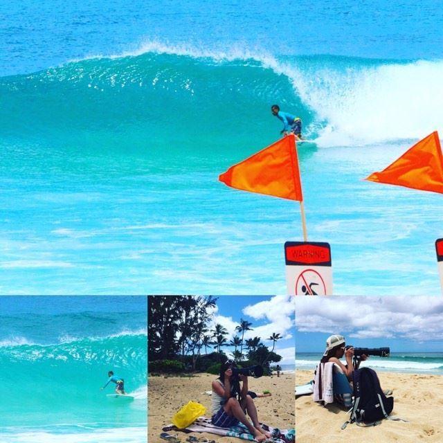 サーフィン撮影