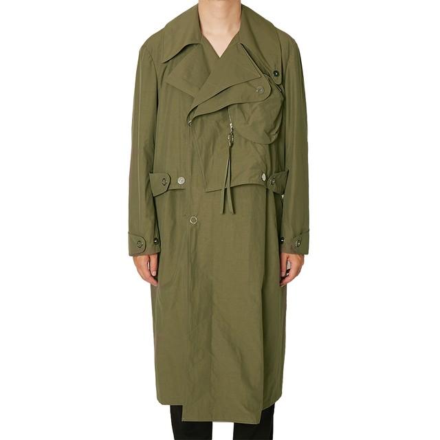 ALMOSTBLACK Trench coat