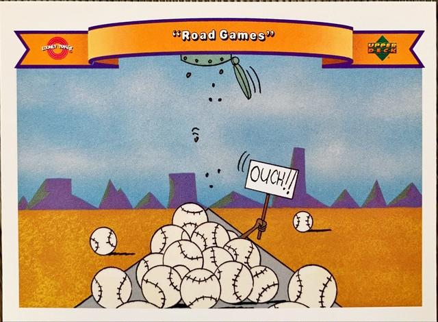 MLBカード 92UPPERDECK Looney Tunes #35