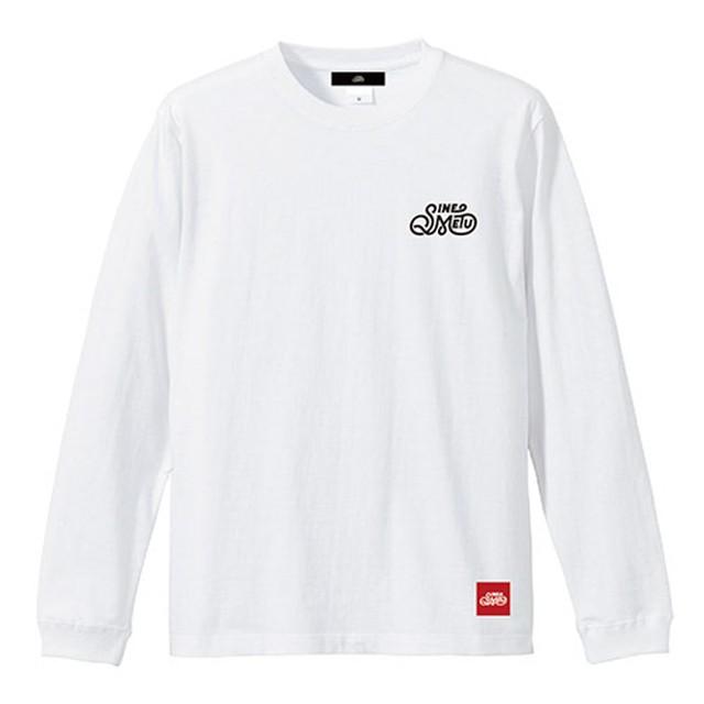 SINE METU ロゴ L/S Tee / ホワイト | SINE METU - シネメトゥ