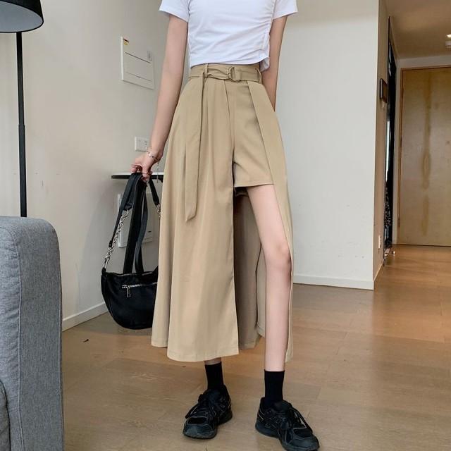 2021SS アシメショーパンスカート