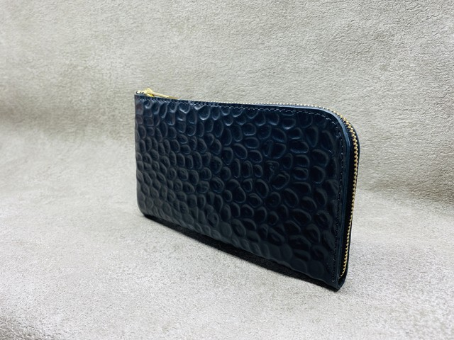 SHOZO wallet (back croco): Black