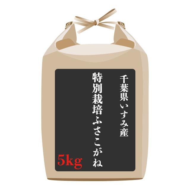 千葉県いすみ産特別栽培ふさこがね 5kg