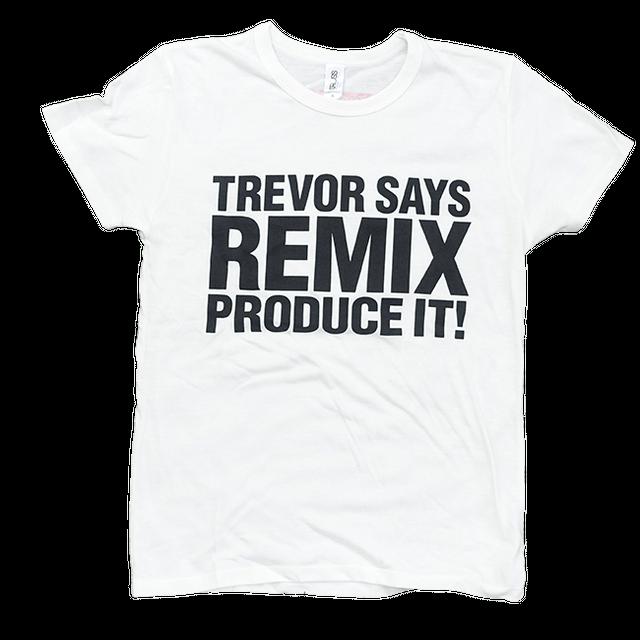 TREVOR HORN REMIX Tシャツホワイト - メイン画像