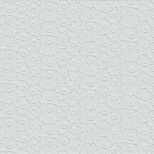 【marimekko】バラ売り1枚 ランチサイズ ペーパーナプキン UNIKKO embossed ライトブルー