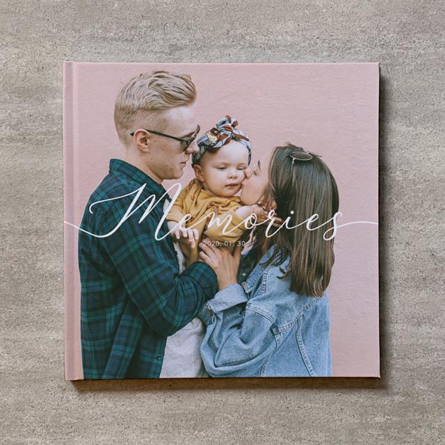 Square flame(白)-FAMILY_B5スクエア_10ページ/10カット_フォトブック