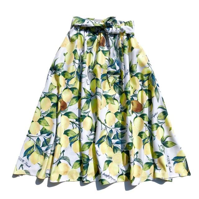 Tent Long Skirt/LEMON