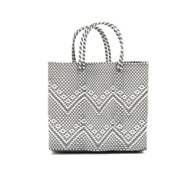 MERCADO BAG GYPSOPHILA - Silver x White(S)