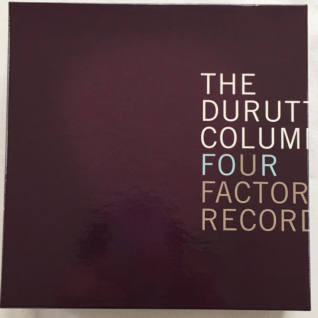【CDx6・英盤】The Durutti Column / Four Factory Records