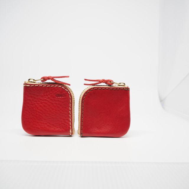 コインケース / coin purse レッド