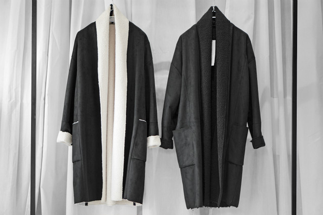 ASKYY / FAKE MOUTON COAT / LONG
