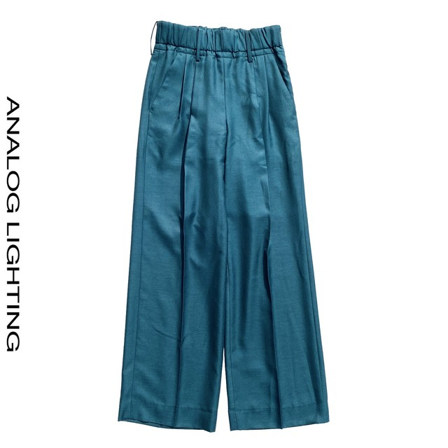 Wide Pants/GREEN